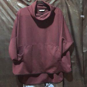North Face cowl neck sweatshirt